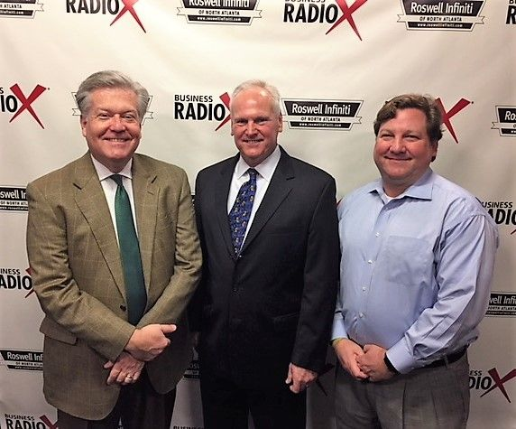 Wayne Hauenstein with Learning Curve Consultants and Brian Whelan with Atlantic Capital Bank
