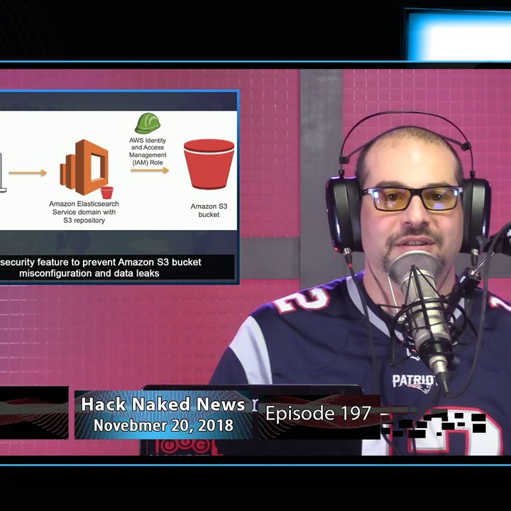 Hack Naked News #197 - November 20, 2018