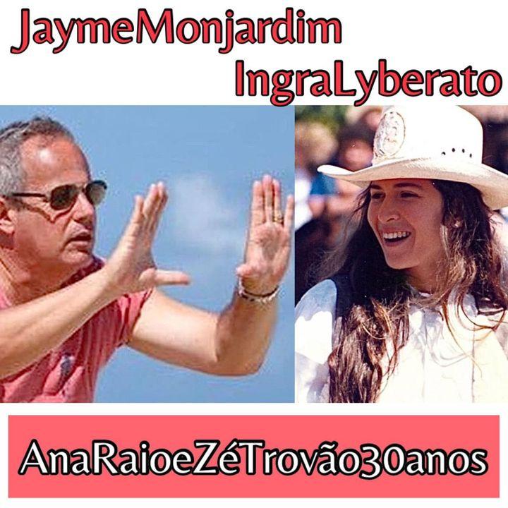 A História de Ana Raio e Zé Trovão 30 anos -  Ingra Lyberato e Jayme Monjardim