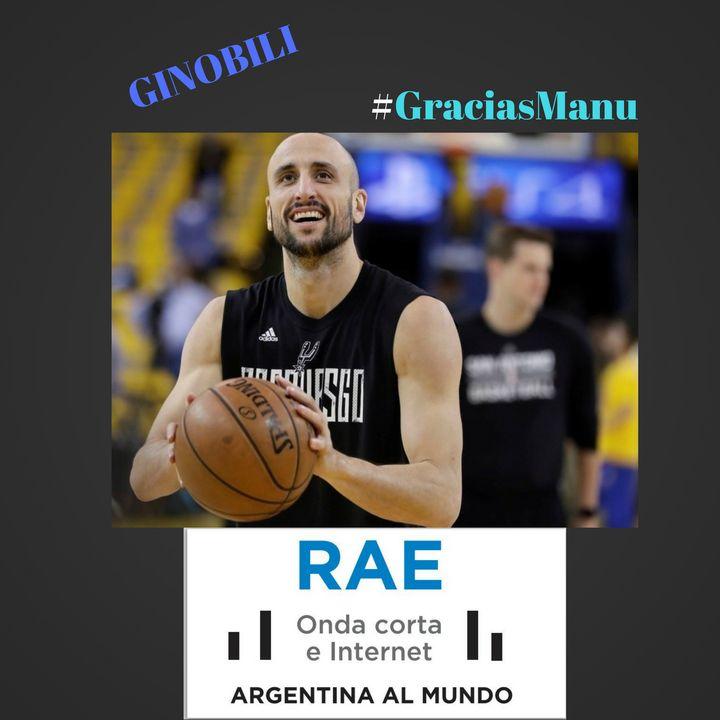 Ginobili. Argentine basketball player.