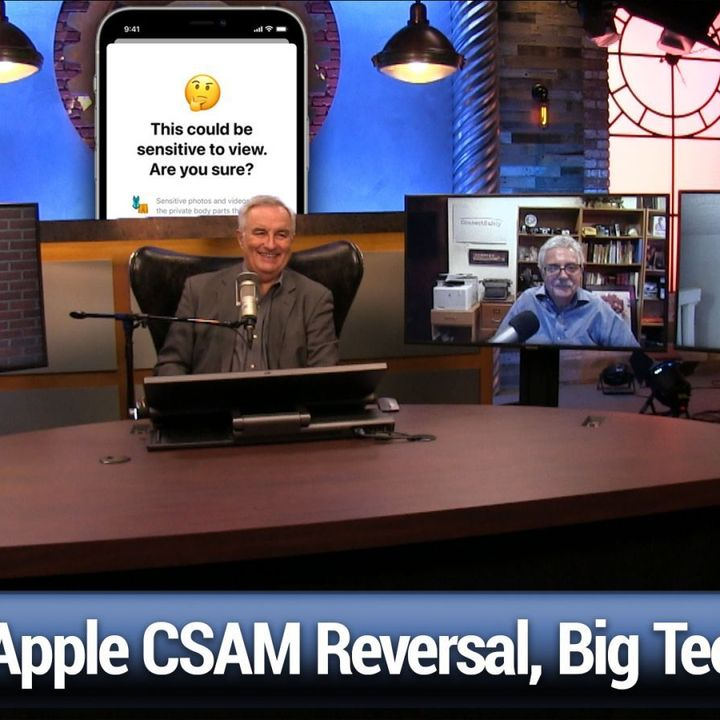 TWiT 839: A Faster Horse - Apple's CSAM reversal, Big Tech pushback in Texas, a spying Lightning cable