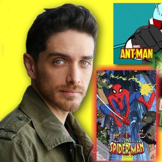 #291: Actor Josh Keaton on voicing superheroes Green Lantern, Ant-Man, and Spider-Man!