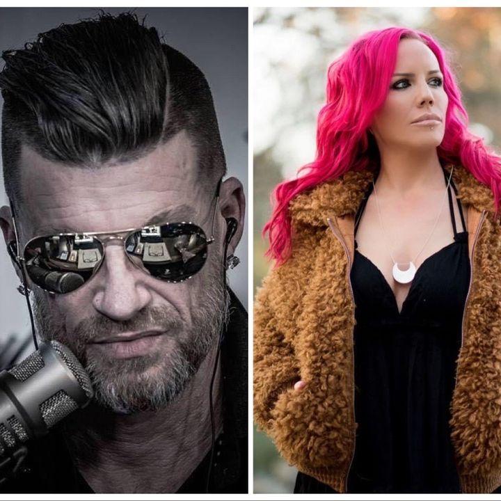 Jen Elizabeth LIVE on M2 The Rock with Host Michael Molthan