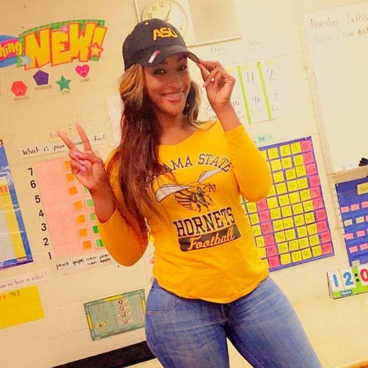 #TeacherBae got curves...GET OVER IT!