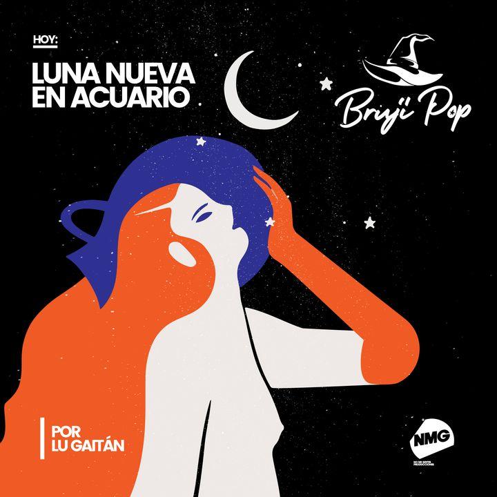 Luna Nueva en Acuario
