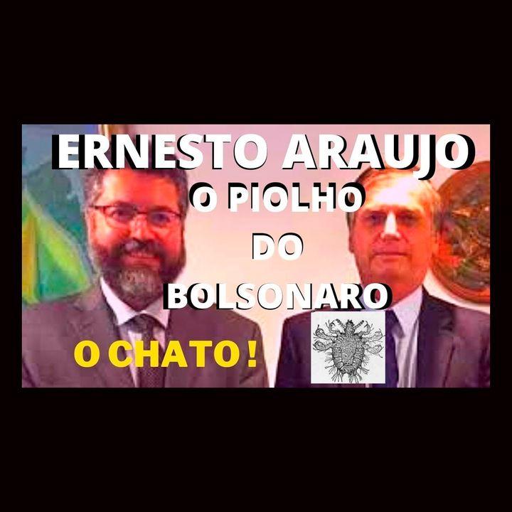Ernesto Araújo, o piolho do Bolsonaro