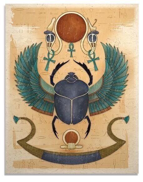 Scarabeo - Processi del Divenire - Parte II [simboli e archetipi]