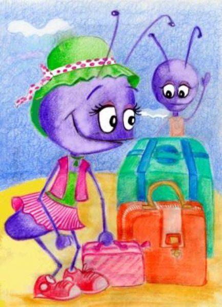 El viaje de las Hormigas - Cuento Infantil