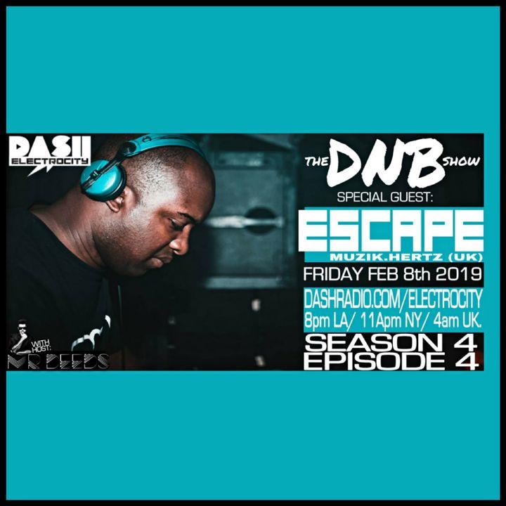 the DNB show Episode 37 (guest mix Escape)