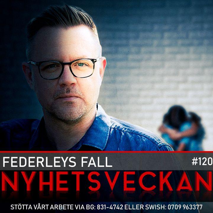 Nyhetsveckan #120 – Federleys fall, nya lögner från Mogge, Trumps segervittring