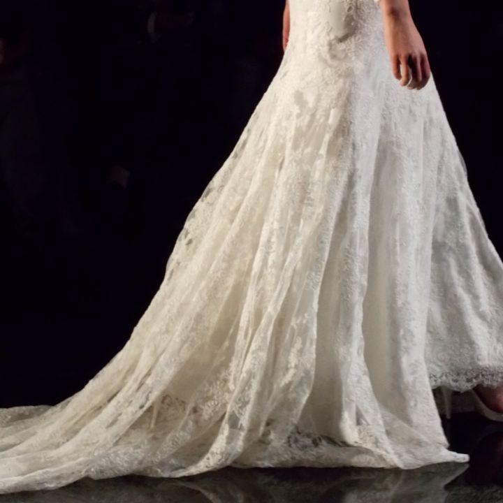 L'abito da sposa: la gonna