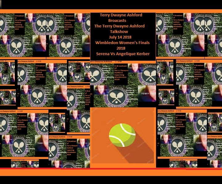 Wimbledon 2018 Broadcast Terry Ashford
