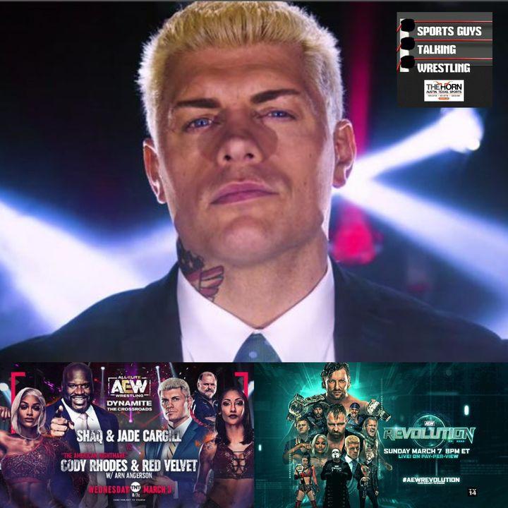 AEW Revolution Media Availability with Cody Rhodes Mar 3 2021