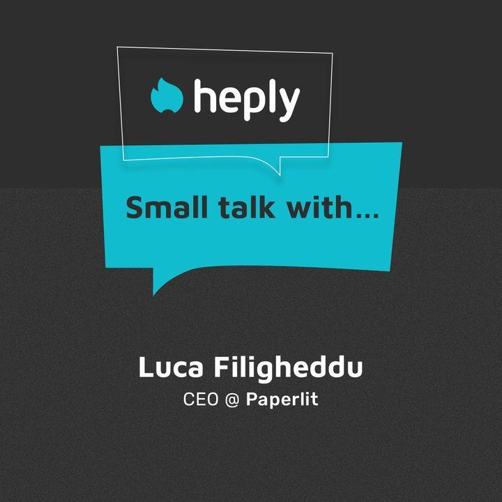 Luca Filigheddu - Paperlit - CEO