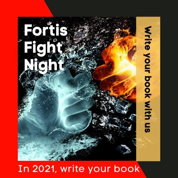 Fortis Publishing Podcast Fight Night Ep 5. I Love The Sound Of Deadlines As They Woosh On By