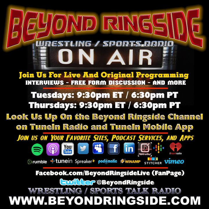 Beyond Ringside Sports Radio - November 5, 2020