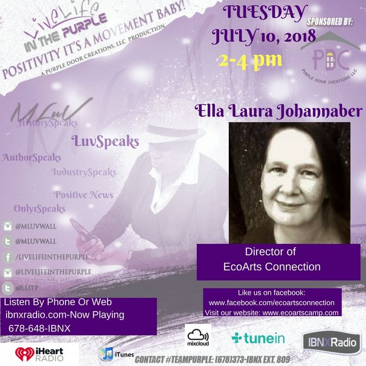 MLuv Interviews Ella Laura Johannaber - Founder of Eco-Arts and Survival Camps