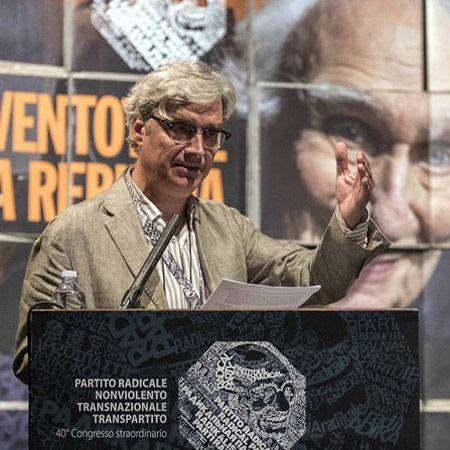 Maurizio Turco, coordinatore presidenza Partito Radicale   IV marcia su amnistia e indulto   4 Novembre '16