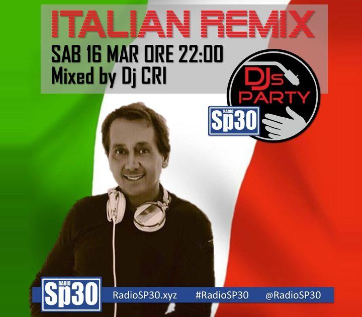 #djsparty - ITALIAN REMIX-1 Mixed By Dj CRI