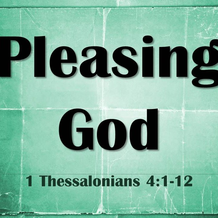 SEEKING TO ALWAYS PLEASE THE FATHER