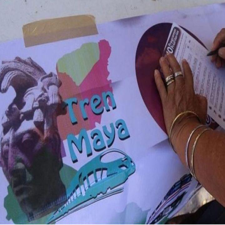 Comunidades indígenas aceptan Tren Maya: SEGOB