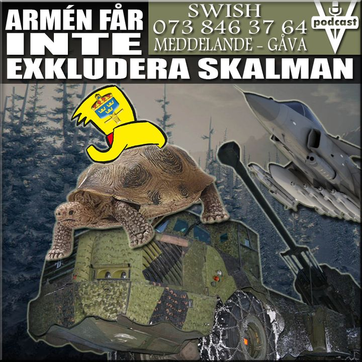 ARMÉN FÅR INTE EXKLUDERA SKALMAN