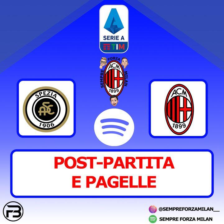 SPEZIA-MILAN 2-0 | PAGELLE e Post Partita