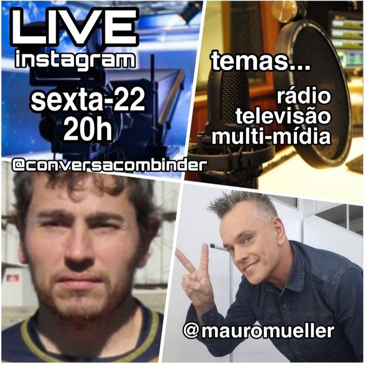 Memórias do Som Iguaçu com Mauro Mueller, apresentador da Rede Massa