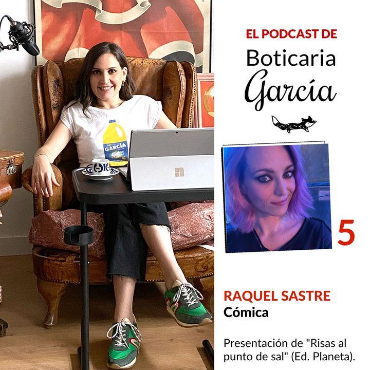 """#5. Presentación de """"Risas al punto de sal"""", de Raquel Sastre."""