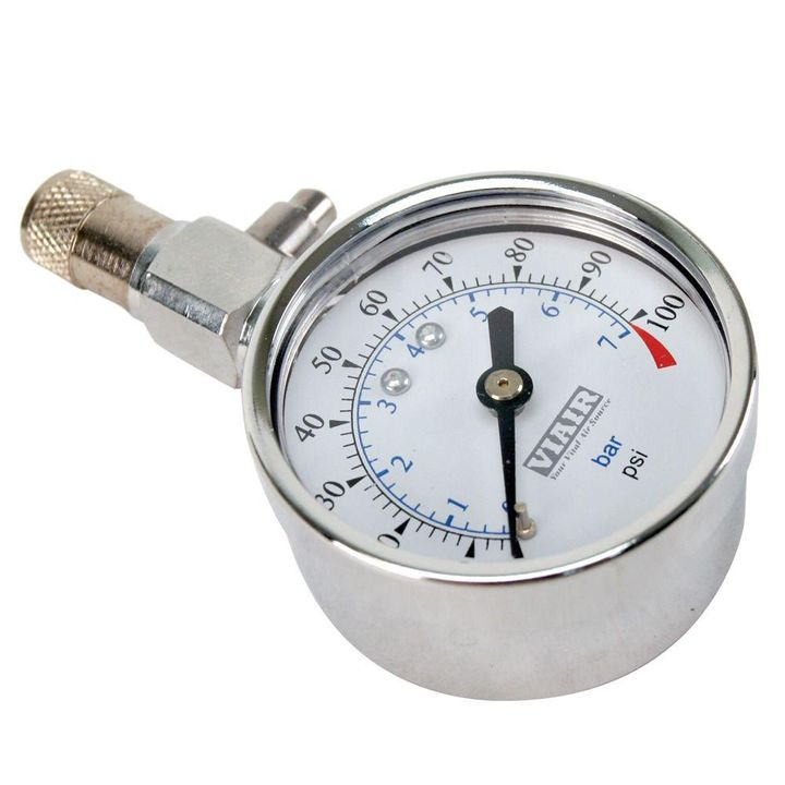 Use a Tire Gauge And Fill Air In Tire
