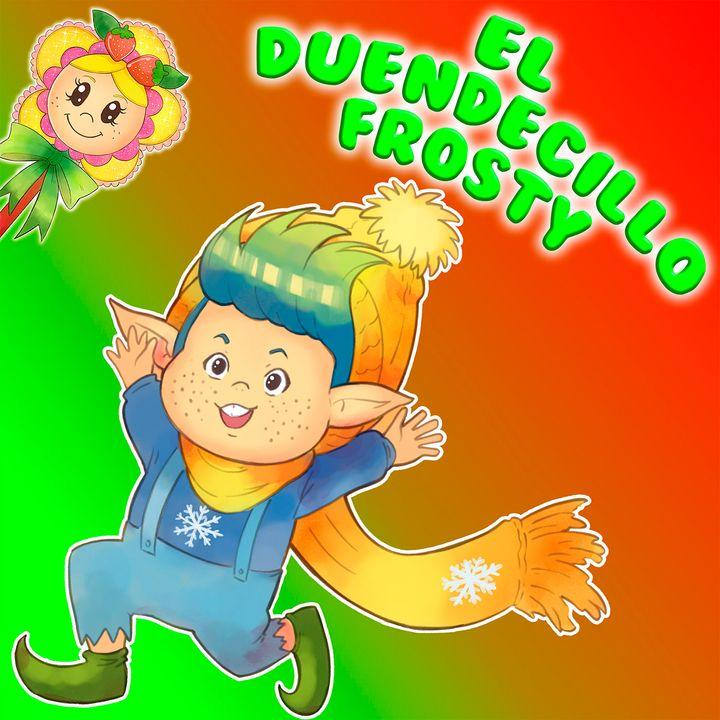 58. Frosty el duendecillo que siempre tenia frio. Cuento infantil en inglés y español de Hada de Fresa