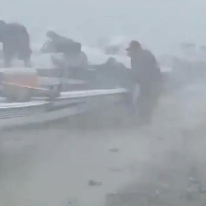 30 embarcaciones fueron hundidas en la presa El Cuchillo, Nuevo León, por una tromba