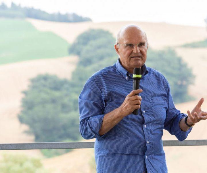 """Imprenditore e sognatore, Bruno Garbini ama la sua terra che vorrebbe """"buona"""" ma tutto dipende da noi"""