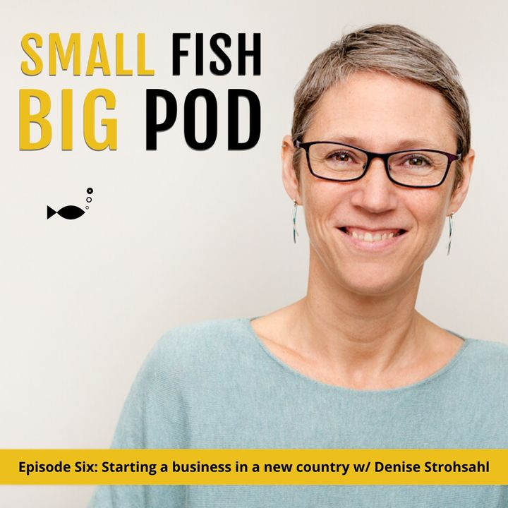 Ep6: Starting a Business in a New Country with Denise Strohsahl