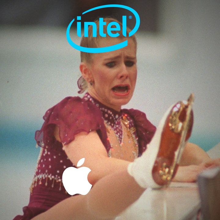 Apple crippling Macbook Intel CPUs on purpose to make Apple SoC look even better? Tinfoil hat time!