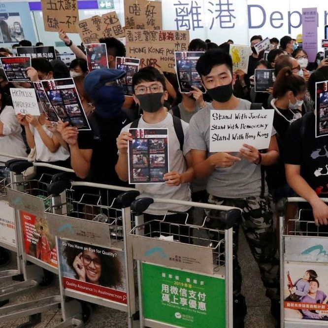 What is going on in Hong Kong?
