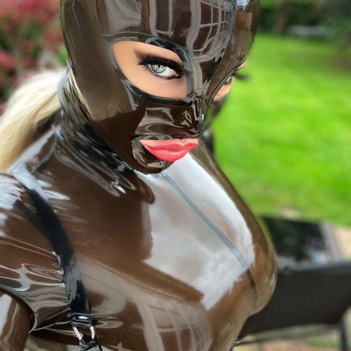 Latex Model Kitty Malone