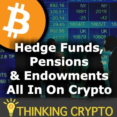 Hedge Funds, Pensions & Endowments Want Your BITCOIN & CRYPTO - Crypto Dad USD Coin