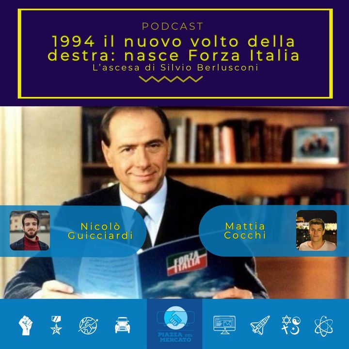 1994 il nuovo volto della destra: nasce Forza Italia
