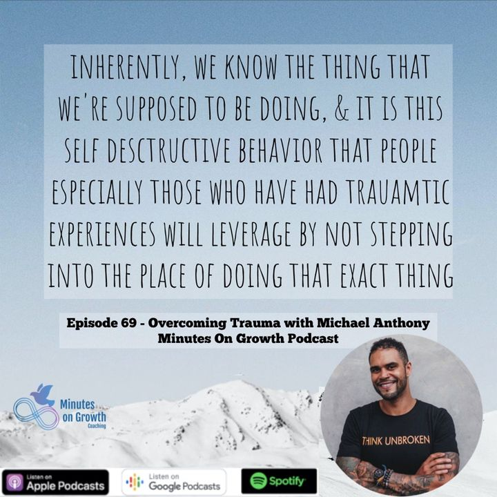 Overcoming Trauma with Michael Anthony