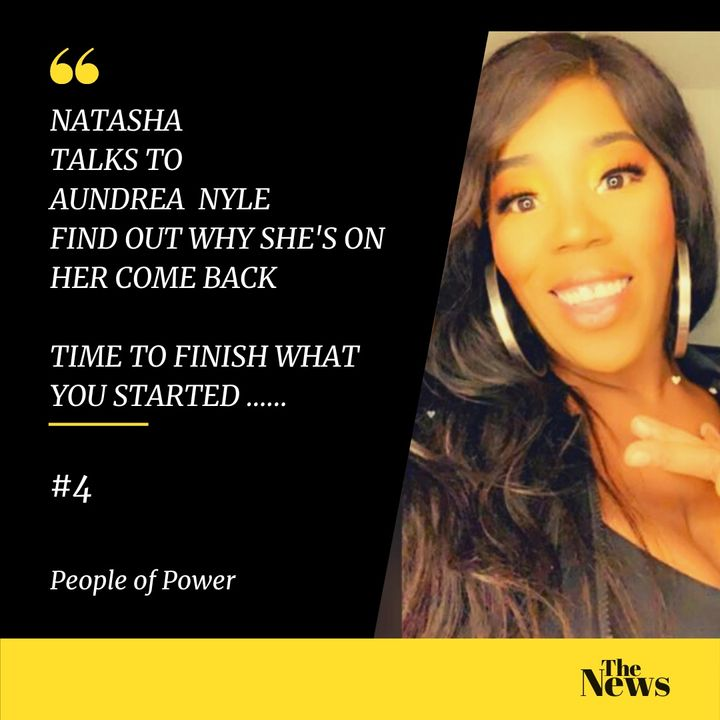 POP   People of Power   POD   Natasha Kerr interviews Aundrea Nyle #4