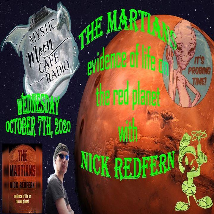 "Nick Redfern Talks ""The Martians"""