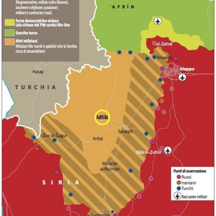 Turchia e Russia in Siria. Talvolta alleati instabili, amici impossibili (prima parte) (3marzo2020)