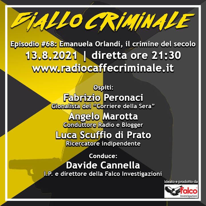 #68 Ep.   Emanuela Orlandi, il crimine del secolo