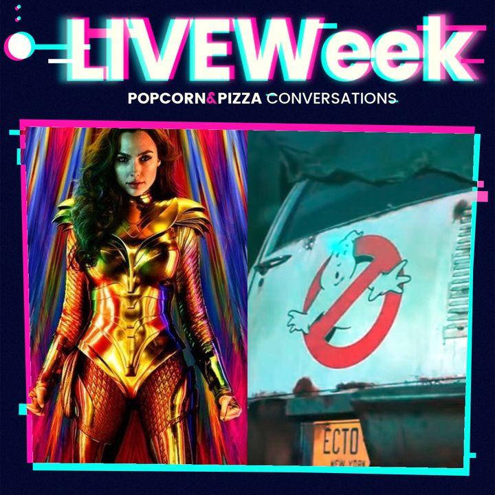 I trailer di Wonder Woman 1984 e Ghostbusters: Legacy (LiveWeek 2 Ep.14)
