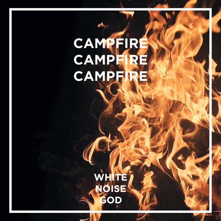 Black Forest Campfire | White Noise | ASMR sounds for deep Sleep Better | Relax | Study | Work