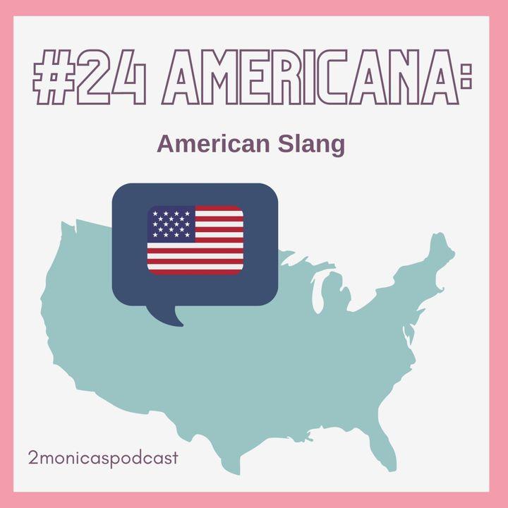 AMERICANA SERIES: Slang in the USA