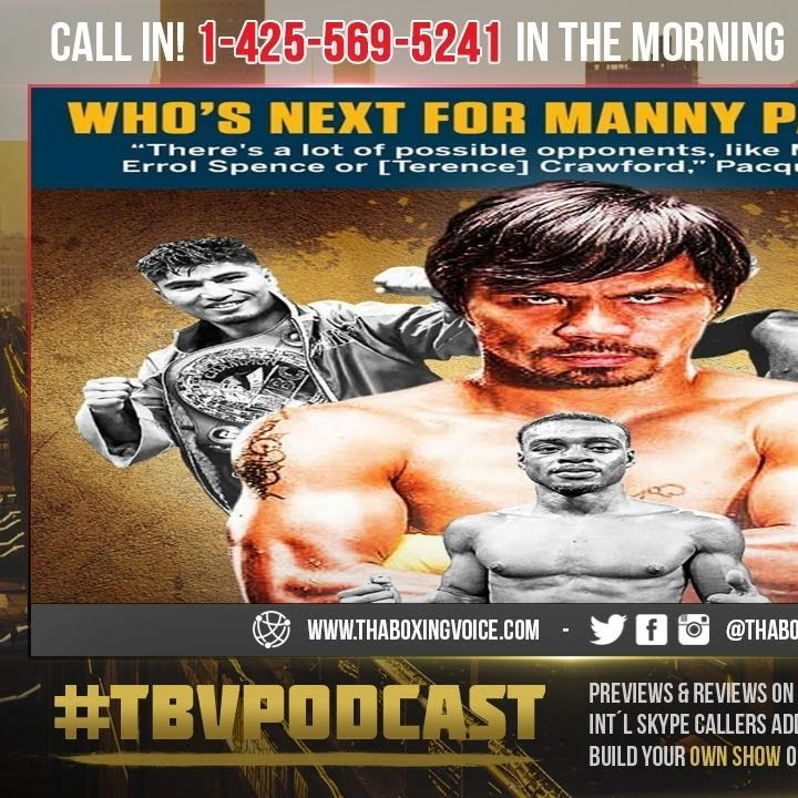 ☎️Mikey Garcia Says Pacquiao Fight Is Being Finalized😱What Happened to Crawford and The 40 Million🤑