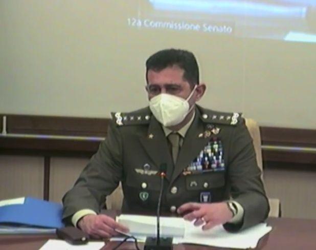 Audizione del commissario per l'emergenza Covid Figliuolo