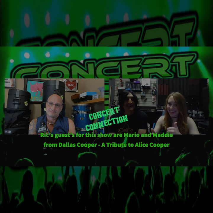 TCC Oct 21, 2020 Ric interviews Mario and Maddie from Dallas Cooper - A Tribute to Alice Cooper
